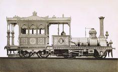 Egypt Railways - The Egyptian Viceroy's private steam locomotive (1862)