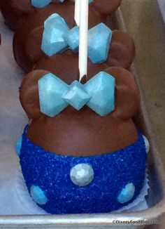 Diamond Celebration Minnie Candy Apple