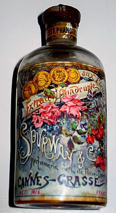 "1900 ""Stephanotis"" Perfume Bottle, Grasse France"