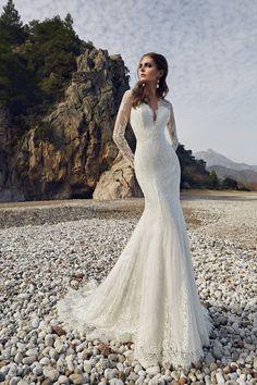 EMERALD wedding dress by LANESTA