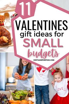 If you're on a budget you'll love these sweet (and cheap) Valentine's gifts the whole family will love! These valentines gift ideas are a great way to include the kids in your valentines celebrations and not go overbudget to show people how much you love them...some ideas are even free!