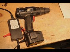 DIY: Battery Drill to Mains (cc) - YouTube