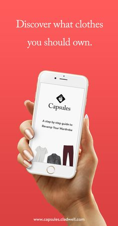 Every day, Outfits for iOS will send you outfit recommendations based on what you currently own, what the weather is like, and how often you wear an item. Swipe through the options, and log one for the day. Join Outfits by Cladwell to live a bigger life with a smaller wardrobe.