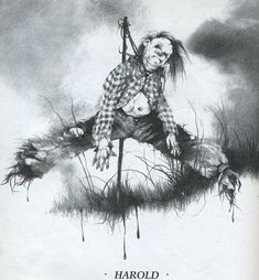 'Scary Stories to Tell in the Dark': The Terrifying Children's Illustrations of Stephen Gammell