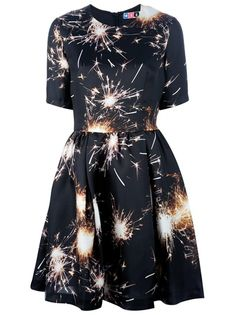 MSGM Fireworks Printed Dress. Maybe for New Years