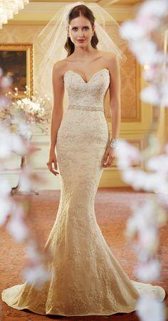 Timeless elegance ~ Sophia Tolli Spring 2014 Bridal Collection | bellethemagazine.com
