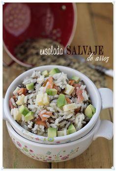 Salade de riz sauvage {par Paula, Avec Claws Massing}