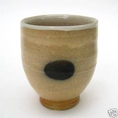 GA Studio Art Pottery YUNOMI (tea cup) by MICHAEL SIMON (10/31/2008)