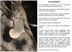 Chab'Blog: Chab'Pensée : Accompagner par Sandrine Connault