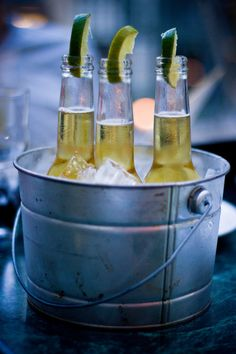 Cold refreshments!