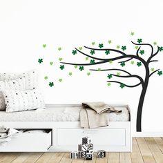 Väggdekor till barn - Träd med gröna blommor - Dekortorget.se Home Decor, Decoration Home, Room Decor, Home Interior Design, Home Decoration, Interior Design