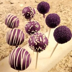 ube cakepops for favors?