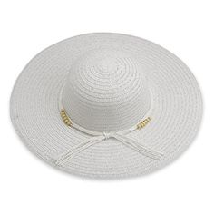 74afd52fe7f DEBRA WEITZNER Beach Straw Floppy Hat For Women by Large