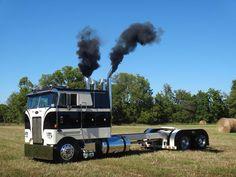 1000 Images About Cab Over Semi On Pinterest Peterbilt Semi Trucks And Trucks