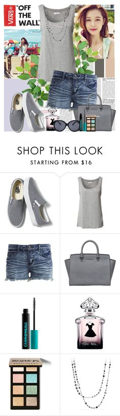 """""""Off the wall"""" by polybaby ❤ liked on Polyvore featuring Therapy, Vans, Jacqueline De Yong, VILA, MICHAEL Michael Kors, Urban Decay, Bobbi Brown Cosmetics and David Yurman"""