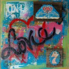 "Saatchi Art Artist Ashley Whittenberger; Painting, ""One Love"" #art"