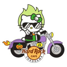 hello kitty by hard rock cafe ltd ed  | 横浜店限定 Hello Kitty Ghost Rider Pin | Hard Rock Cafe Japan ...