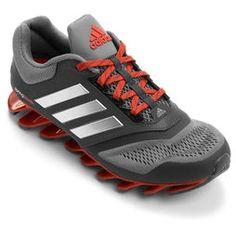 Tênis Adidas Springblade 2 - Cinza+Vermelho
