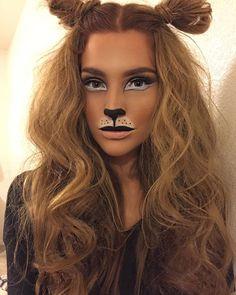 Maquiagem bicho/leão carnaval