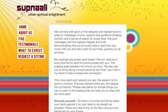 Website for Spiritualist Supnalli