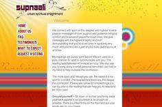 Website for Spiritualist Supnalli