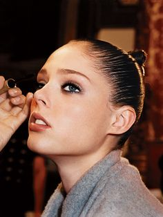 If you carefully wiggle your mascara at the base of your lashes, you get a gold star. Everyone else: Start doing it.