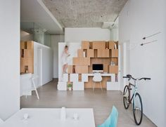 Brooklyn loft designed by SABO project