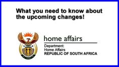 What you need to know about upcoming changes in South African immigration law Research Studies, Cape Town, Need To Know, South Africa, Law, African, Facts, Change, Reading
