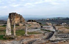 Bagno Vignoni (San Quirico d'Orcia - SI): Parco dei Mulini (24-01-10)