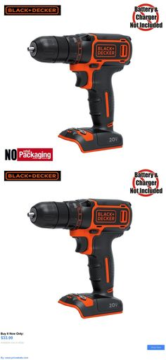 tools: Black And Decker Bdcdd120 20V Max Lithium-Ion 3/8 In. Cordless Drill / Driver BUY IT NOW ONLY: $33.99 #priceabatetools OR #priceabate