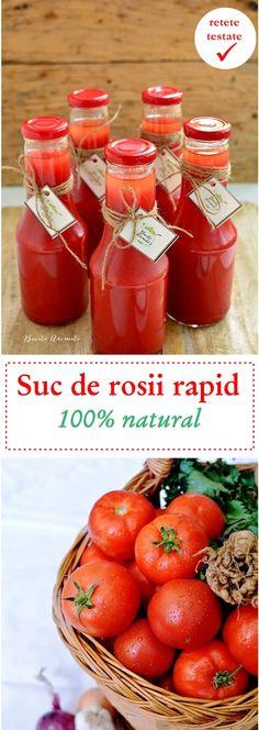 Ketchup, Hot Sauce Bottles, Drink, Vegetables, Recipes, Food, Romanian Recipes, Canning, Beverage