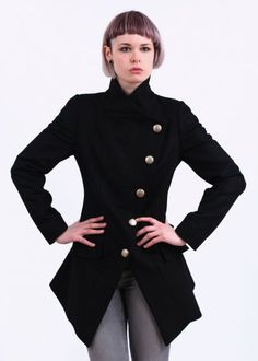 The Vivienne Westwood State Coat - Black is now available online and  instore at Triads. bc4e99825