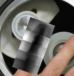 Sticky tape is good for more than just wrapping gifts: it can actually produce X-rays. The tape emits a faint luminescence when peeled away from its holder – a phenomenon called triboluminescence. A group of researchers at UCLA investigated a claim made by Soviet researchers in the 1950s that unrolling sticky tape also results in the release of X-rays, and found it to be valid, producing pictures of their own finger bones.
