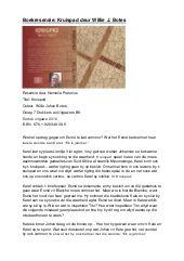 Boekresensie KRUISPAD Willie J Botes - Hannelie Pretorius