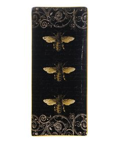 Look what I found on #zulily! Bees Rectangular Tray - Set of Two #zulilyfinds