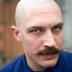 Tom Hardy in Bronson. Incredible movie