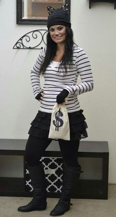 1000+ Ideas About Burglar Costume On Pinterest | Last Minute Halloween Costumes Robber Costume ...