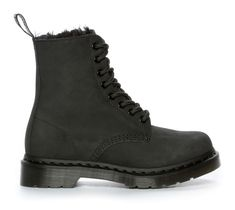 Dr Martens Pascal Fl, 8 Eye Boot - Sort 302286 feetfirst.no