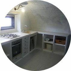 cocina de obra www.dangeloarquitecta.com