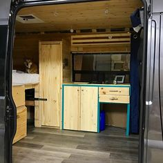 Look at all the space we now have for all of our stuff @jpdean333 wrapped up all the front storage space last night - doors and drawers galore! #countdowntovanlife #projectvanbuild #vanbuild #vanlife #vanlifeideas #campervan #kitchen #closet #storage #creative #carpentry #weeknights #weresovancy #tacotruck #taco #hashtagtaco #minimalist #simple #homeiswhereyouparkit #clean #ramvan #puremichigan #annarbor #michigan #barnbuild #shermanfarms