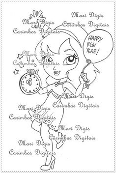 Carimbo digital, digi stamps