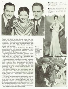 """Kay Francis Fredric March """"Strangers in Love"""""""
