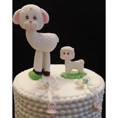 Little Lamb Cake Toppers, Mommy and Baby Cake Topper, Little Lamb Baby Shower, Little Lamb Mommy and Me Baby Shower, Baby Lamb Cake Topper, Lamb Favor Decoration