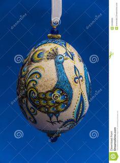 Peacock Easter Egg