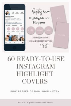 Are you a professional blogger? Than you know, that one of the best free marketing tool is your Instagram Higlight Covers! You can share your best works there and attrack your costumers, brands with your Stories. With this modern, handwritten Highlight Covers you can keep your Instagram look cohesive, pretty and professional.  ★ IDEAL FOR ★  Fashion Bloggers Beauty Bloggers Lifestyle Bloggers Youtubers  #instagramhighlight #instagramstorycover #instagramstories Marketing Tools, Social Media Marketing, Graphic Design Branding, Minimal Fashion, Wedding Couples, Photo Studio, Fashion Bloggers, Instagram Story