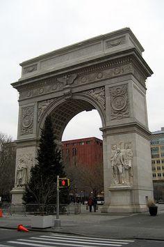 NYC - Greenwich Village: Washington Square Park - Washington Square Arch