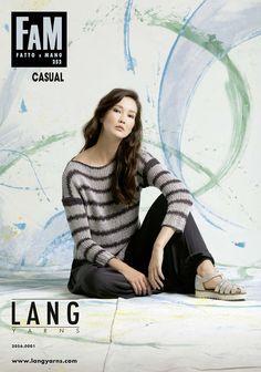 Lang Yarns Fatto a Mano FAM 255 Collection Strickheft mit Strickanleitungen