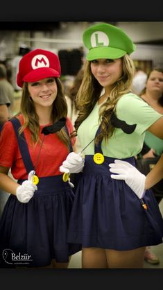 Mario and Luigi Best Friends Costumes