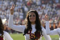 USC Song Girl Keli Snyder, Rose Bowl 2009