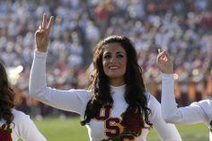 USC Song Girl Keli Snyder, Rose Bowl 2009